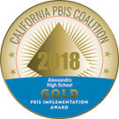 Gold PBIS Implementation Award